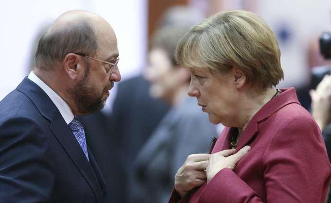 """Η Α. Μέρκελ ελπίζει το SPD να λάβει """"μια υπεύθυνη απόφαση"""""""