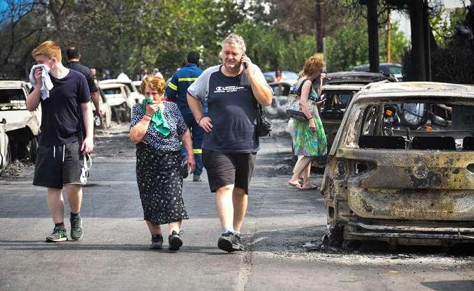Άνοιγμα Ειδικού Λογαριασμού στην ΤτΕ για την αρωγή των πληγέντων από τις πυρκαγιές