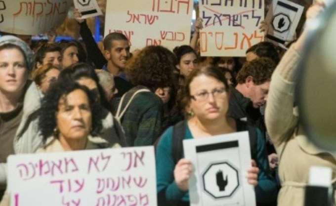 Χιλιάδες Ισραηλινές απήργησαν και διαδήλωσαν κατά της βίας σε βάρος τους