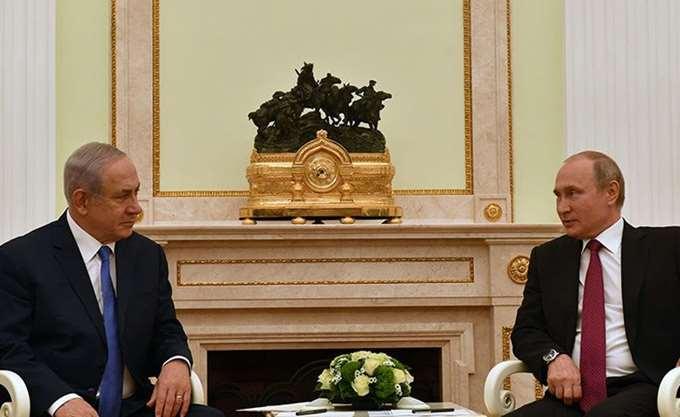 Νετανιάχου προς Πούτιν: Η Συρία ευθύνεται για την κατάρριψη του ρωσικού αεροπλάνου