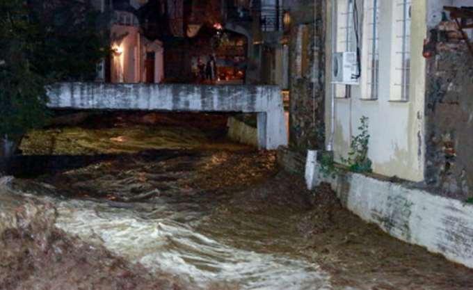 Σε κατάσταση έκτακτης ανάγκης περιοχές της Λέσβου