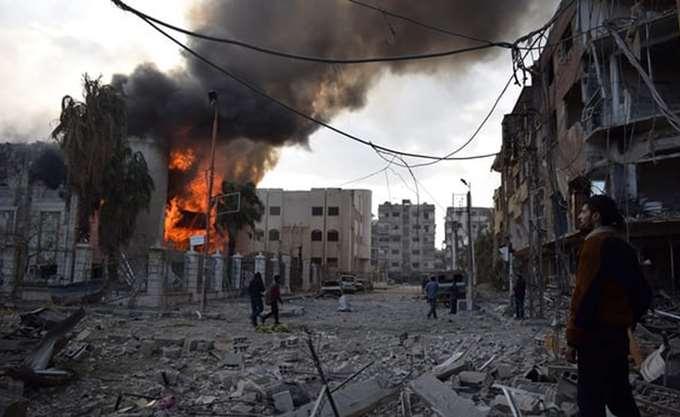 ΟΗΕ-Συρία: Διεθνής αυτοκινητοπομπή που μεταφέρει βοήθεια εισήλθε στην Ανατολική Γούτα