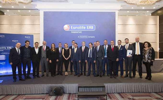Η Eurolife ERB βράβευσε τους νικητές του 8ου Διαγωνισμού Πωλήσεων