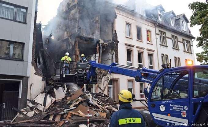 Γερμανία: Τουλάχιστον 25 τραυματίες σε έκρηξη κτηρίου