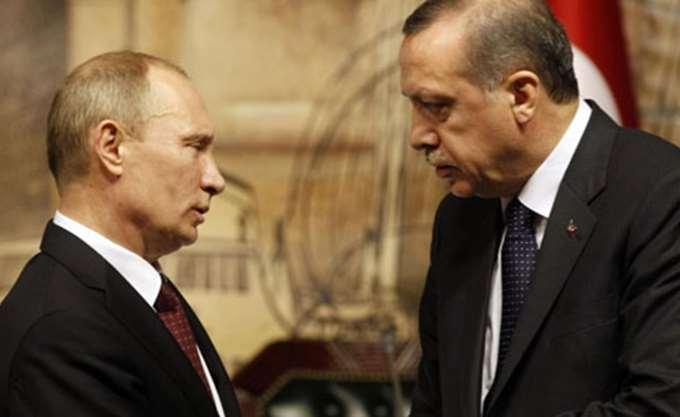 Συνάντηση Ερντογάν-Πούτιν ενόψει της αμερικανικής αποχώρησης από τη Συρία