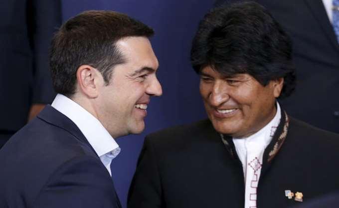 Α. Τσίπρας: Με τη Βολιβία μάς συνδέουν κοινά ιδανικά