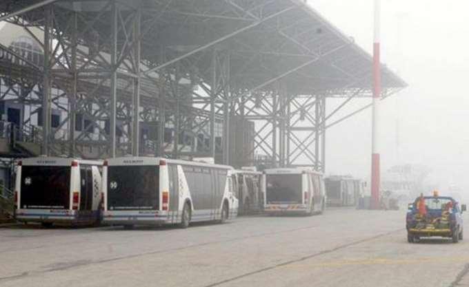 Θεσσαλονίκη: Καθυστερήσεις στις πτήσεις λόγω ομίχλης στο αεροδρόμιο Μακεδονία