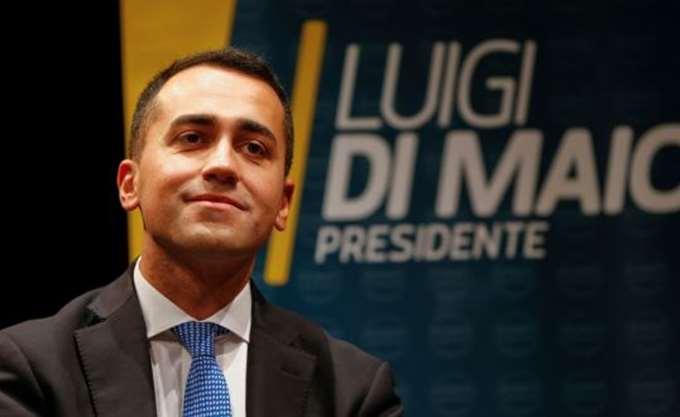 Ντι Μάιο: Θεωρώ άτοπο το να νευριάσει η γαλλική κυβέρνηση με την Ιταλία