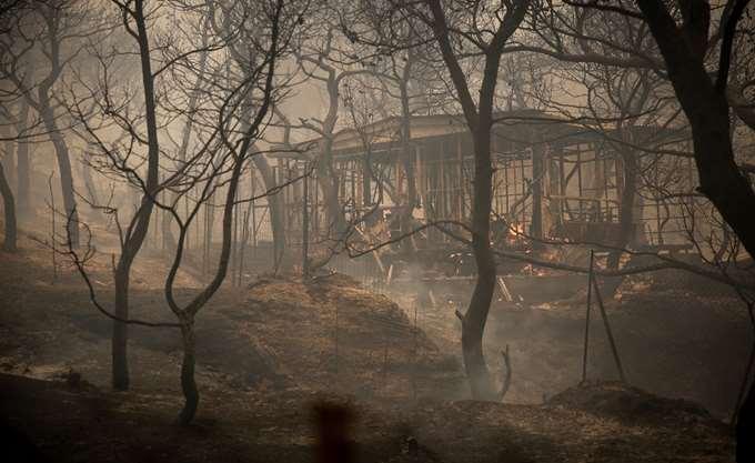 ΓΓ Πολιτικής Προστασίας: Χαρακτηριστικά των πυρκαγιών του 2007 στη φωτιά στην Κινέτα