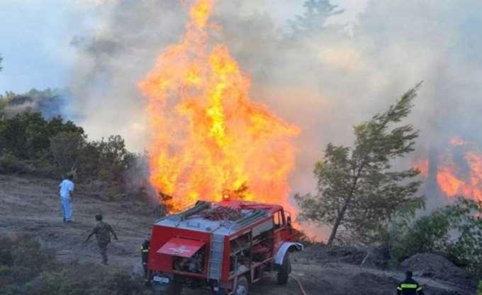 Χανιά: Υπό μερικό έλεγχο η πυρκαγιά στη Σπίνα που καίει από την Τετάρτη