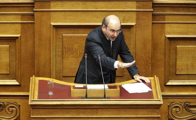 """Κ. Χατζηδάκης: Ζήτημα ηθικής τάξης για τον ΣΥΡΙΖΑ, κάνει τον """"Ρομπέν των φτωχών"""""""