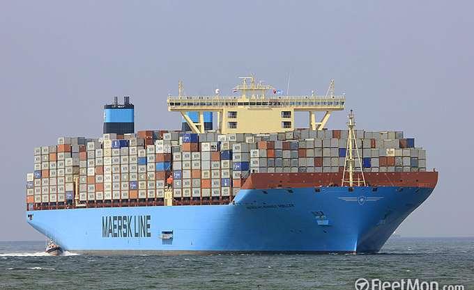 Συρρικνώθηκαν οι ζημιές της AP Moeller-Maersk
