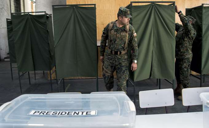 Χιλή: Ο Πινιέρα προηγείται με ποσοστό 53,6% στις προεδρικές εκλογές