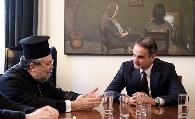 Κ. Μητσοτάκης: Τα εκκρεμή ζητήματα Εκκλησίας - κράτους μπορούν να ρυθμιστούν χωρίς συνταγματικές αλλαγές