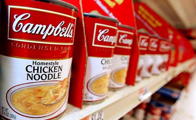 Πτώση 1,4% στα έσοδα της Campbell Soup
