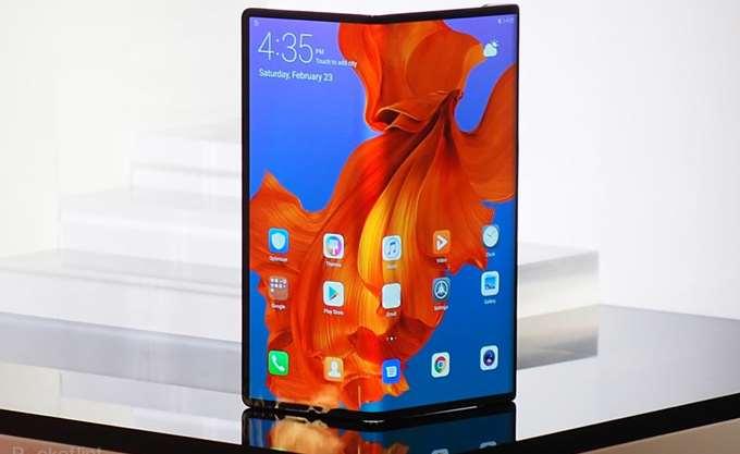 H Huawei ανακοίνωσε αναδιπλούμενο έξυπνο κινητό τηλέφωνο