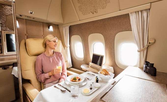 Μια ματιά στις σουίτες της πρώτης θέσης των Emirates