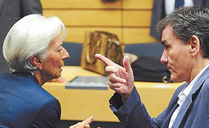 Lagarde: Είχα μια παραγωγική συνάντηση με τον Ε. Τσακαλώτο
