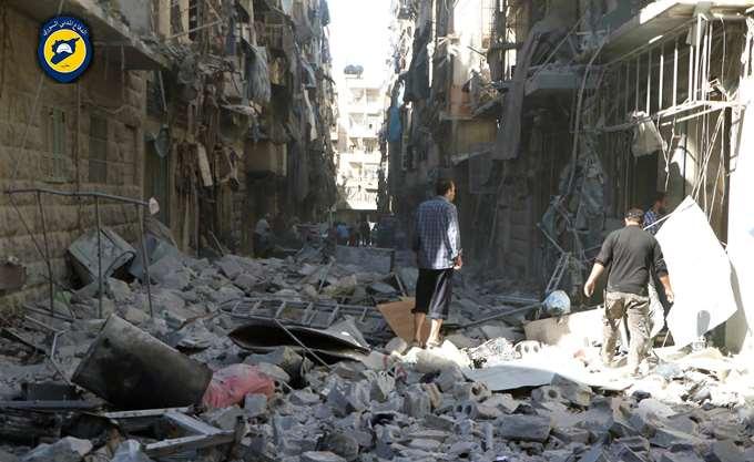 Συρία: Τουλάχιστον 11 νεκροί σε επίθεση με ρουκέτες στο Χαλέπι
