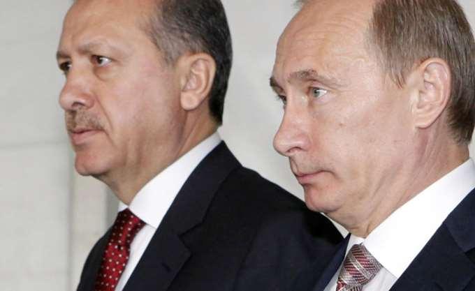 Επικοινωνία Πούτιν-Ερντογάν και Μακρόν-Μέρκελ για Συρία