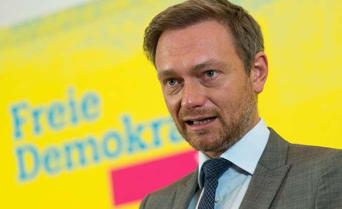 Λίντνερ (FDP) προς CDU: Μην εκβιαστείτε από το SPD