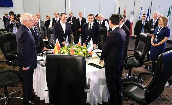 Σύνοδος Νότου: Να μην διχάσει την Ευρώπη το μεταναστευτικό κάλεσαν οι πρωθυπουργοί Ιταλίας - Πορτογαλίας