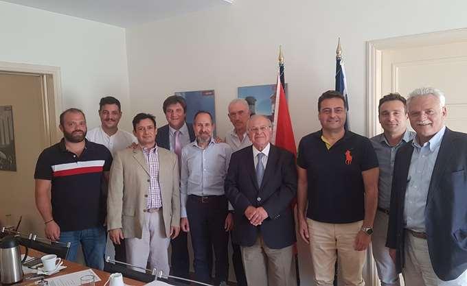 H σύνθεση του ΔΣ του Ελληνοκινεζικού Επιμελητηρίου