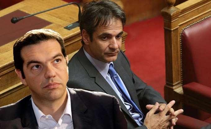 Ο Μητσοτάκης στριμώχνει τον Τσίπρα στη Βουλή για τη γενικευμένη ανομία στα Πανεπιστήμια