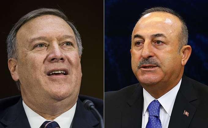 """Συμφωνία ΗΠΑ - Τουρκίας για τη συριακή Μάνμπιτζ """"βλέπει"""" ο Τσαβούσογλου"""