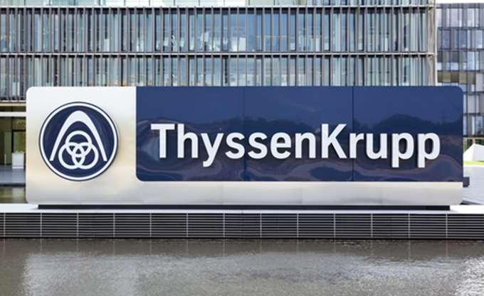Στα κέρδη επέστρεψε η Thyssenkrupp στο β΄ τρίμηνο