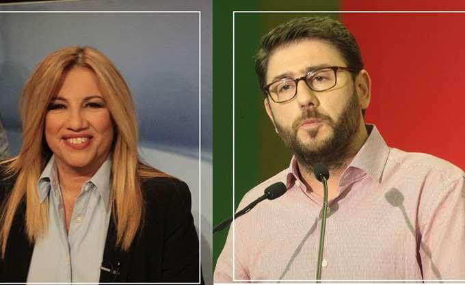 Γεννηματά - Ανδρουλάκης διεκδικούν την ηγεσία του νέου φορέα της Κεντροαριστεράς