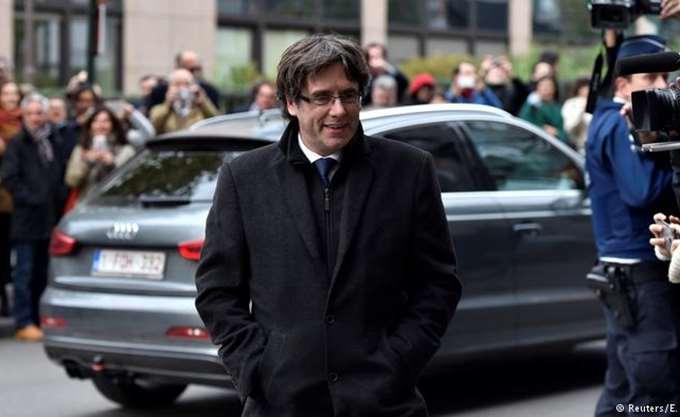 Η γερμανική εισαγγελία ζήτησε την έκδοση του Πουτζντεμόν στην Ισπανία