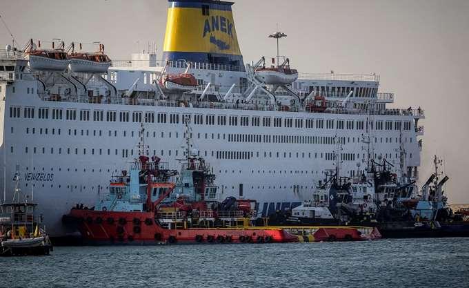 Ολοκληρώθηκε με ασφάλεια η αποβίβαση των 875 επιβατών του πλοίου Ελ. Βενιζέλος