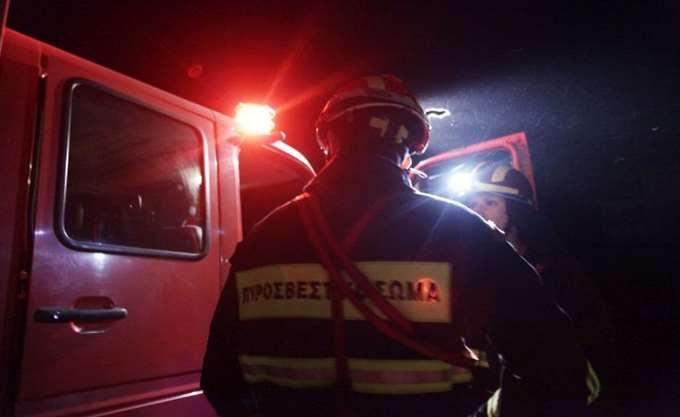 Τρίκαλα: Σε εξέλιξη η πυρκαγιά στην περιοχή Λογγιές