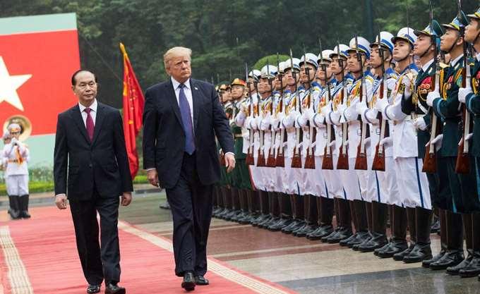"""Βιετνάμ, ο μεγαλύτερος """"κερδισμένος"""" από το ταξίδι του Trump στην Ασία"""