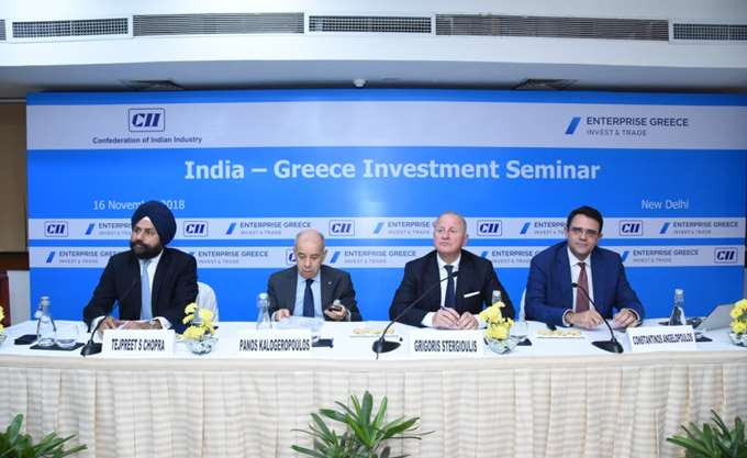 Σημαντικές επαφές του Enterprise Greece με επιχειρήσεις και επιχειρηματικούς φορείς στην Ινδία