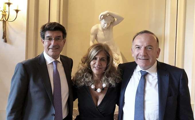 Ο Θ. Φέσσας στις Βρυξέλλες στην τελετή παράδοσης της προεδρίας της Business Europe