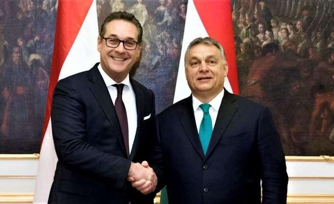 Κοινή πολιτική ομάδα Ακροδεξιάς - κόμματος του Όρμπαν πρότεινε ο αντικαγκελάριος της Αυστρίας