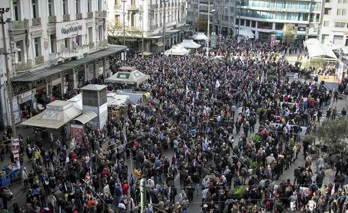 Σήμερα η 24ωρη γενική απεργία της ΓΣΕΕ -ακινητοποιημένα μετρό, ηλεκτρικός, προαστιακός, τρένα, τραμ και τρόλει