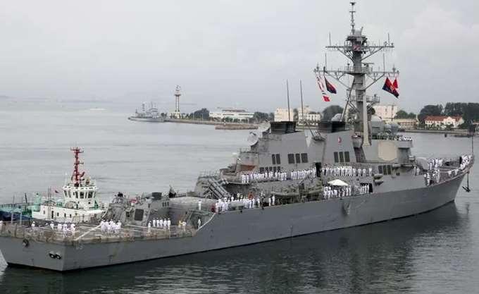 Συγκρούστηκε αμερικανικό πολεμικό πλοίο με ιαπωνικό ρυμουλκό