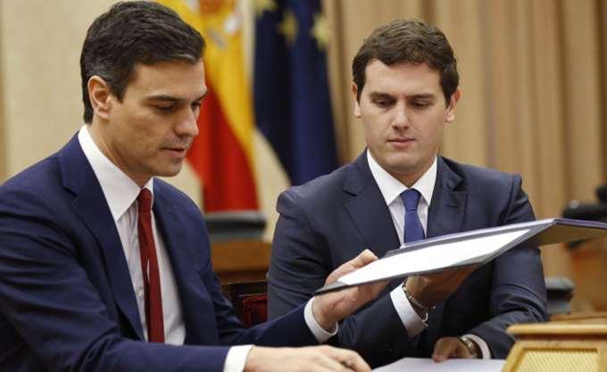 Ισπανία: Το σενάριο μετεκλογικής συνεργασίας Σοσιαλιστών - Ciudadanos κερδίζει έδαφος