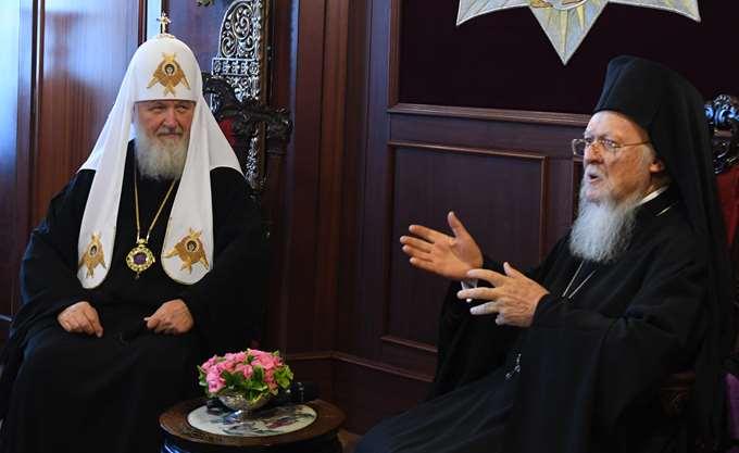 Μήνυμα Βαρθολομαίου προς Μόσχα: Οι κανόνες των Οικουμενικών Συνόδων δεσμεύουν όλη την Ορθοδοξία