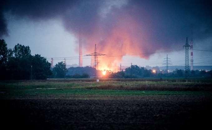 Γερμανία: Έκρηξη και πυρκαγιά σε διυλιστήριο στο 'Ινγκολσταντ
