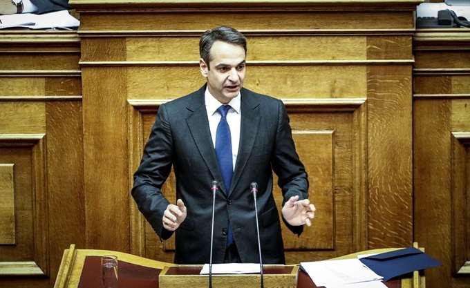 Τοποθέτηση Κυρ. Μητσοτάκη την Τετάρτη στη Βουλή για Β' Αθήνας - ψήφο κατοίκων εξωτερικού
