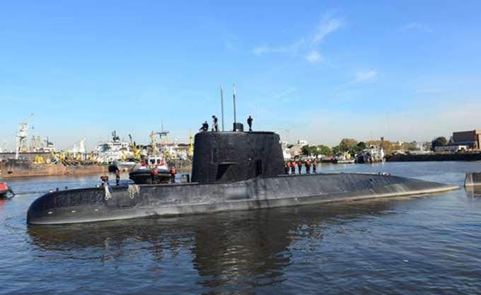"""Αργεντινή: Μια """"νέα ένδειξη"""" εντοπίστηκε για το υποβρύχιο Σαν Χουάν"""