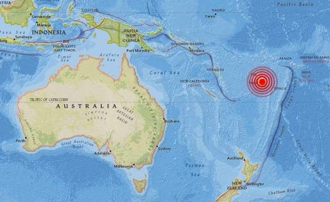 Φίτζι: Σεισμός 8,1 Ρίχτερ κοντά στη Σούβα