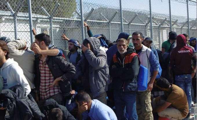 Ένας Σύριος νεκρός σε συμπλοκές μεταναστών στο hotspot Μαλακάσας
