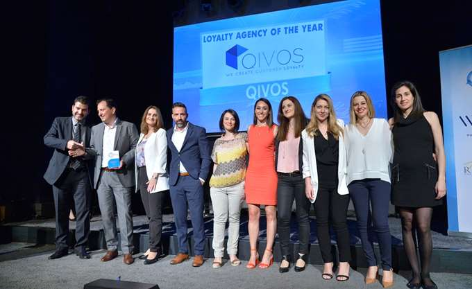 Η QIVOS ανακηρύχθηκε Loyalty Agency of the Year στα Loyalty Awards 2018