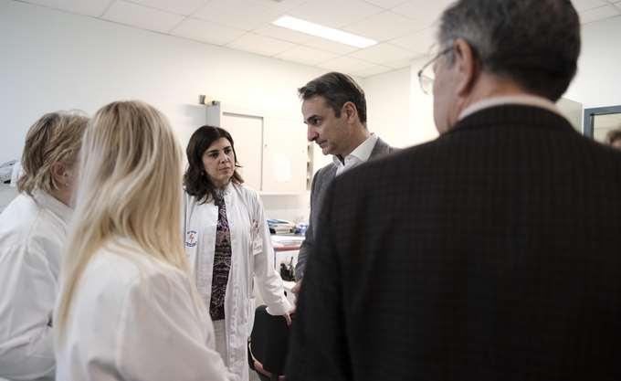 Οι μεγάλες ελλείψεις σε προσωπικό στη συνάντηση Μητσοτάκη με νοσηλευτές