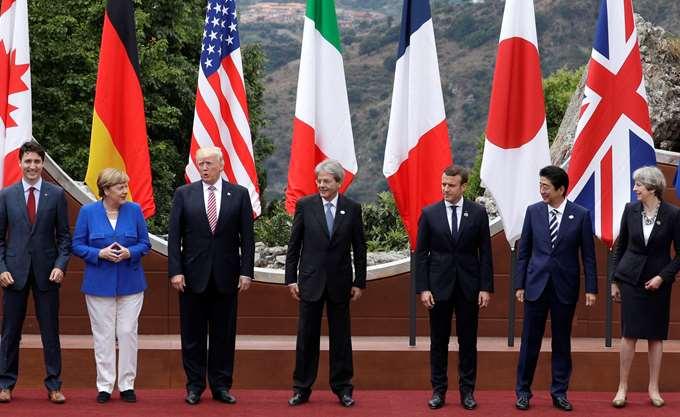 """G7: Μακρόν και Τριντό δεν είναι έτοιμοι """"να δεχθούν τα πάντα για να υπάρξει κοινή ανακοίνωση"""""""